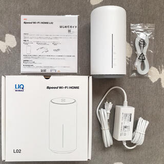 ファーウェイ(HUAWEI)のUQ wimax speed wifi HOME L02 HUAWEI(PC周辺機器)