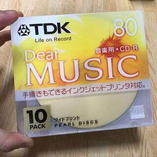 ティーディーケイ(TDK)の音楽用CD-R 10枚(PC周辺機器)