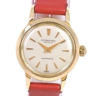 インターナショナルウォッチカンパニー(IWC)のアナログ表示アイダブリューシー シャフハウゼン cal.44 K18イエローゴー(腕時計)