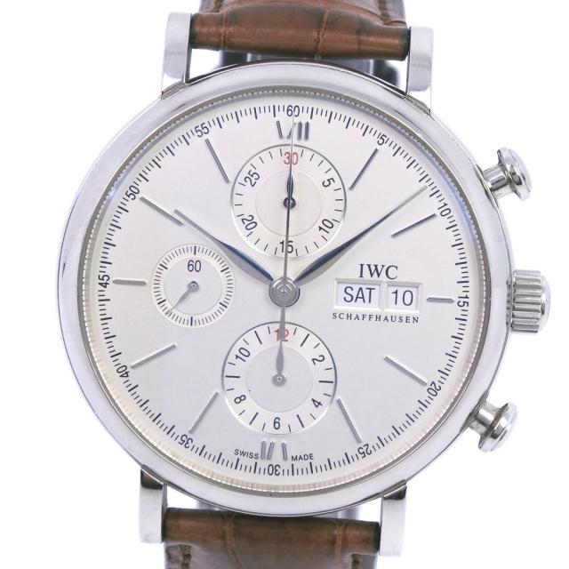 IWC(インターナショナルウォッチカンパニー)のクロノグラフインターナショナルウォッチカンパニー ポートフィノ cal.7532 メンズの時計(腕時計(アナログ))の商品写真