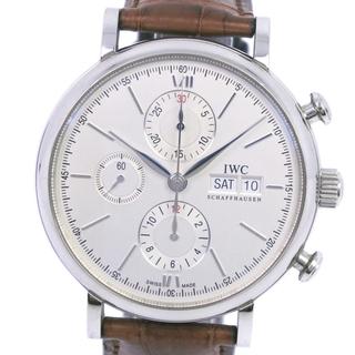 インターナショナルウォッチカンパニー(IWC)のクロノグラフインターナショナルウォッチカンパニー ポートフィノ  cal.75(腕時計(アナログ))