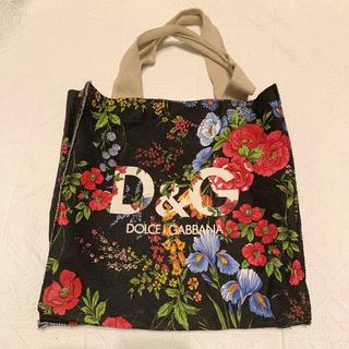 ドルチェアンドガッバーナ(DOLCE&GABBANA)の【D&G】ノベルティー 花柄ショッピングバッグ(ノベルティグッズ)