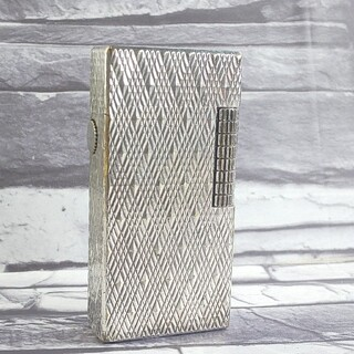 ダンヒル(Dunhill)のダンヒル 12 ライター ダンヒル70後期ダイヤカット ローラガス ダンヒル(タバコグッズ)