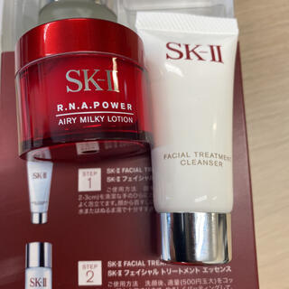 SK-II - SK‐II ピテラ パワー キットのクレンザーと美容乳液
