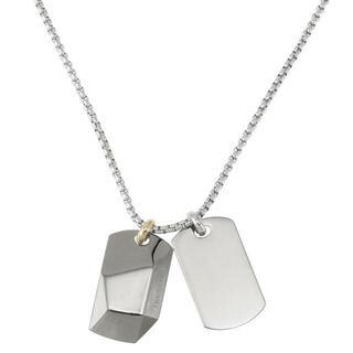 ディーゼル(DIESEL)のディーゼル DX1143040 ダブル プレート ドッグタグ ネックレス(ネックレス)