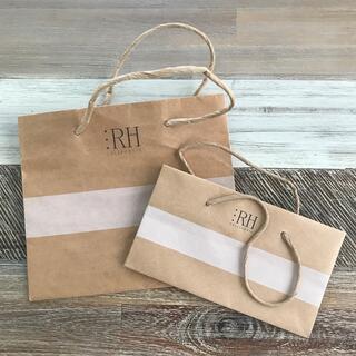 ロンハーマン(Ron Herman)のロンハーマン 紙袋 大小2枚セット(ショップ袋)