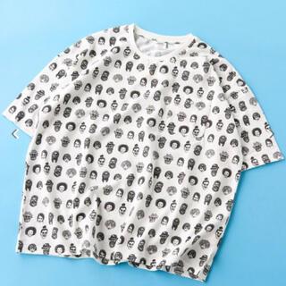 ジムマスター(GYM MASTER)のgym master ジムマスター ビッグジャガード Tシャツ (Tシャツ/カットソー(半袖/袖なし))