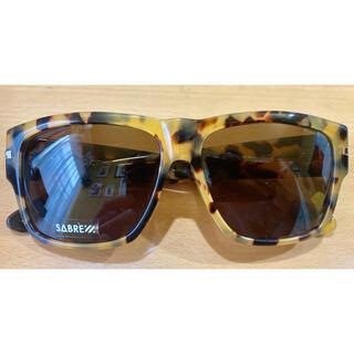 セイバー(SABRE)のSABREセイバーNO CONTROLサングラス未使用品定価15400円(サングラス/メガネ)