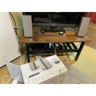 ボーズ(BOSE)のBOSE Companion 20 multimedia  PCスピーカー (PC周辺機器)