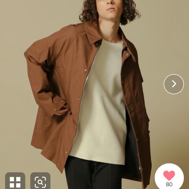 MARKAWEAR(マーカウェア)の【MARKAWARE】ウェイファーラーミドルコート メンズのジャケット/アウター(その他)の商品写真