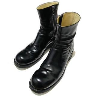 カズユキクマガイアタッチメント(KAZUYUKI KUMAGAI ATTACHMENT)のKAZUYUKI KUMAGAI GUIDI サイドジップブーツ(ブーツ)