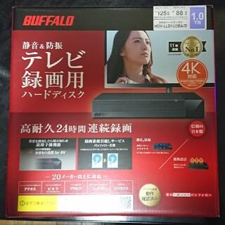 バッファロー(Buffalo)のバッファローテレビ録画用ハードディスク1TB HDV-LLD1U3BA/D(テレビ)