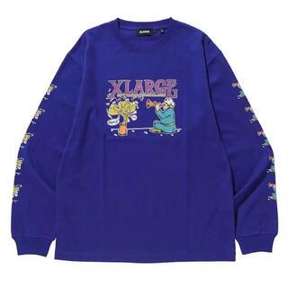 XLARGE - XLARGE エクストララージ 長袖グラフィックプリントTシャツ