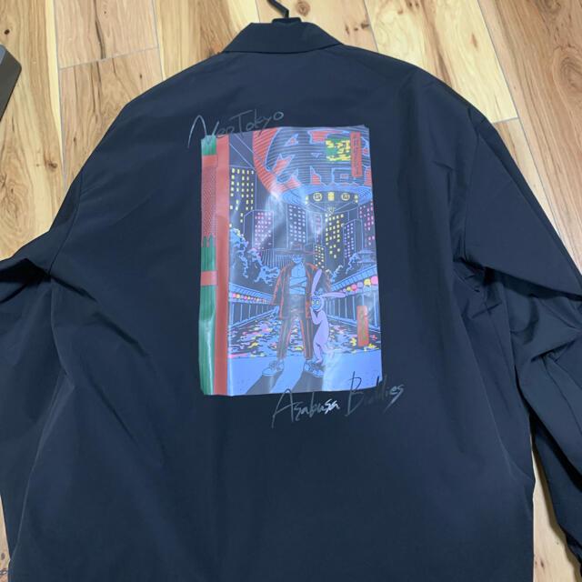 RAGEBLUE(レイジブルー)の【楽でかっこいい】コーチジャケット メンズのジャケット/アウター(ブルゾン)の商品写真