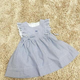 ベビーディオール(baby Dior)のbaby Dior サマードレス 90cm(ワンピース)
