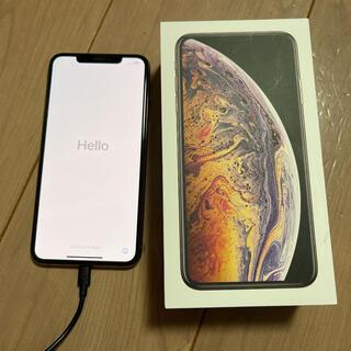 アイフォーン(iPhone)の美品 iPhone xs max 256GB(スマートフォン本体)