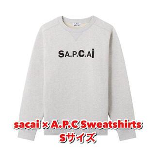 sacai - sacai × A.P.C スウェット サカイ アーペーセー