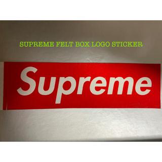 シュプリーム(Supreme)のSUPREME FELT BOX LOGO STICKER (ステッカー)