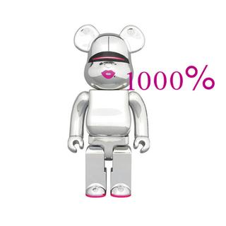 メディコムトイ(MEDICOM TOY)のBE@RBRICK SORAYAMA×2G SILVER Ver.1000%(その他)