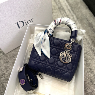 クリスチャンディオール(Christian Dior)の美品 クリスチャンディオール MYABC レディディオール スモール(ハンドバッグ)