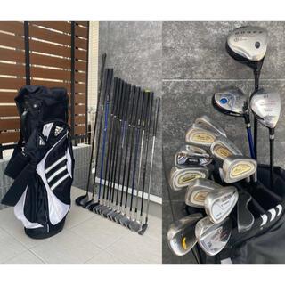 タイトリスト(Titleist)の最安値 SALE 様々なメーカーで揃えた男性ゴルフクラブ フルセット 14本(クラブ)