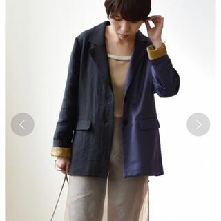 アメリヴィンテージ(Ameri VINTAGE)の新品エイミーロウ バックフリルアシンメトリージャケット(テーラードジャケット)