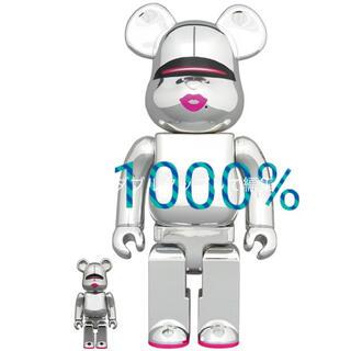 BE@RBRICK SORAYAMA × 2G SILVER Ver 1000%(その他)