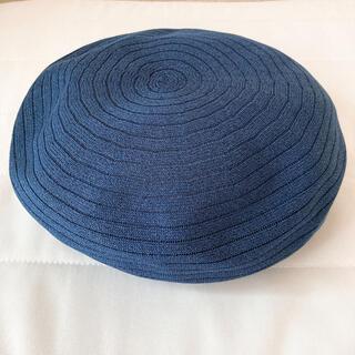 美品 サマーベレー帽(ハンチング/ベレー帽)