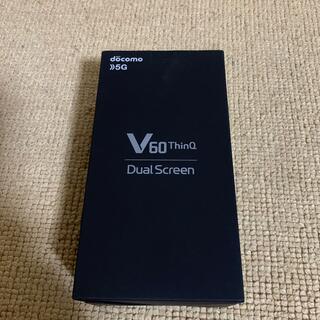 エルジーエレクトロニクス(LG Electronics)のL-51A V60 ThinQ 5G SIMフリー(スマートフォン本体)