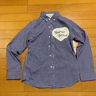 ゴートゥーハリウッド(GO TO HOLLYWOOD)の数回使用 GO TO HOLLYWOOD チェックシャツ 140(Tシャツ/カットソー)