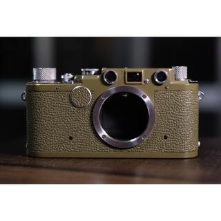 LEICA - 完動品美品ライカ Leica iic サファリ後塗  not iiif iiic