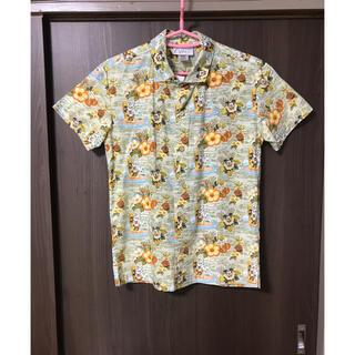 ディズニー(Disney)の【未使用】ハワイ限定 AURANI アウラニ ディズニー ミッキーアロハシャツ(シャツ/ブラウス(半袖/袖なし))