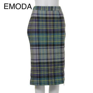 エモダ(EMODA)のEMODA チェックスカート(ロングスカート)