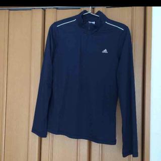 アディダス(adidas)のアディダス トレーニング用長袖シャツ 紺(Tシャツ(長袖/七分))