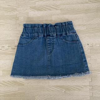 プティマイン(petit main)のpetitmain デニムスカート 80(スカート)