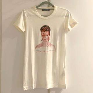 ドルチェアンドガッバーナ(DOLCE&GABBANA)の【DOLCE&GABBNA】デヴィッドボウイ プリントカットソー サイズ36(Tシャツ(半袖/袖なし))