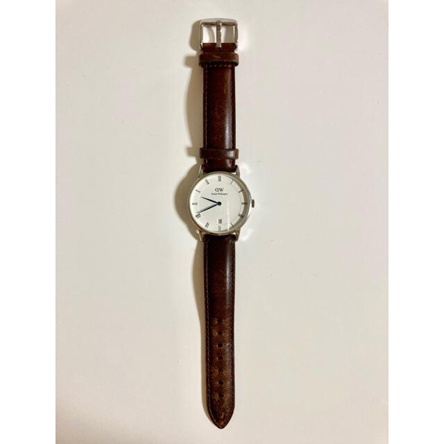 Daniel Wellington(ダニエルウェリントン)の腕時計 ダニエルウェリントン ダッパー メンズの時計(レザーベルト)の商品写真