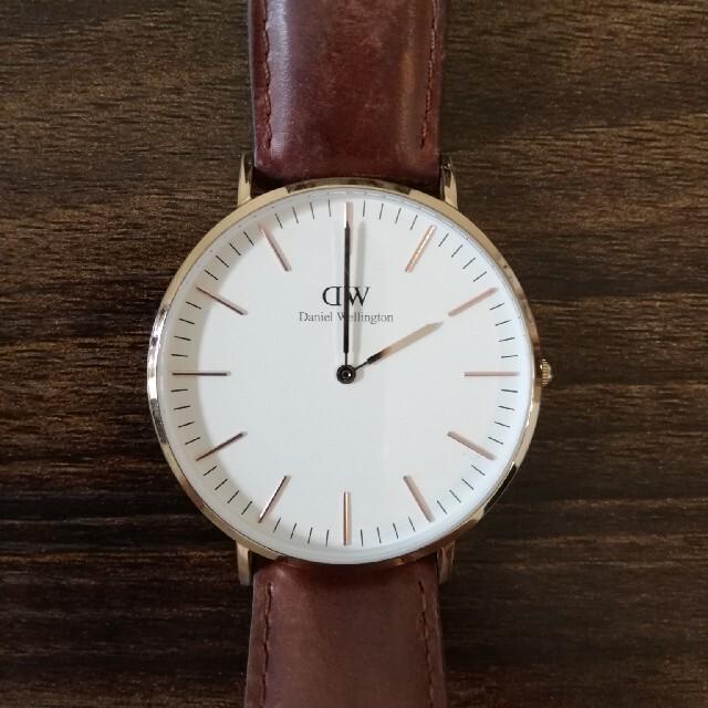 Daniel Wellington(ダニエルウェリントン)の[Daniel Wellington] 腕時計 メンズの時計(レザーベルト)の商品写真