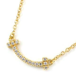 ティファニー(Tiffany & Co.)の【超美品】Tiffany ティファニー スマイル ミニ ダイヤ ネックレス(ネックレス)