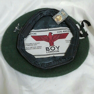 Boy London - BOY LONDON ベレー帽 デッドストック 80s ヴィンテージ