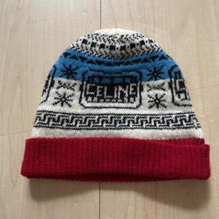 セリーヌ(celine)のセリーヌ ニット帽(ニット帽/ビーニー)