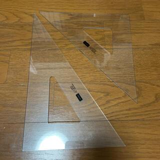 コクヨ(コクヨ)のUCHIDA ウチダ 三角定規セット 建築設計製図(オフィス用品一般)