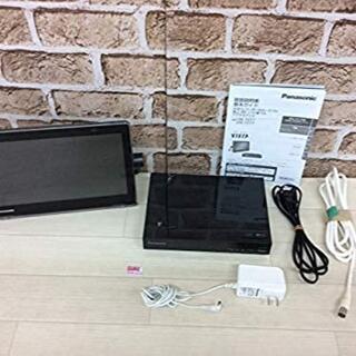 パナソニック(Panasonic)のパナソニック 10V型 液晶 テレビ プライベート・ビエラ UN-10T7-K(ブルーレイプレイヤー)