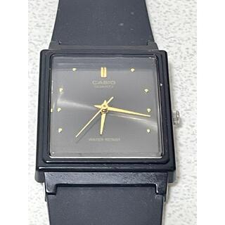 カシオ(CASIO)のカシオ CASIO 腕時計 ブラック  クォーツ ウォッチ メンズ(ラバーベルト)