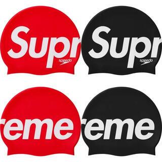 シュプリーム(Supreme)のsupreme speedo swim cap 赤 新品 未開封 (マリン/スイミング)