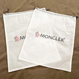 モンクレール(MONCLER)のMONCLER モンクレール ショップ袋 保存袋 巾着袋 不織布(ショップ袋)