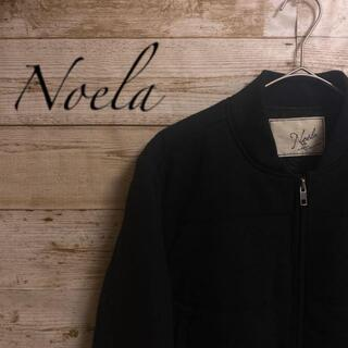 ノエラ(Noela)のノエラ ブルゾン フルジップ 黒 ブラック レディース Mサイズ(ブルゾン)
