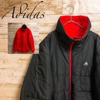 アディダス(adidas)の《Adidas》アディダス リバーシブル ワンポイントロゴ ナイロンジャケット(ダウンジャケット)