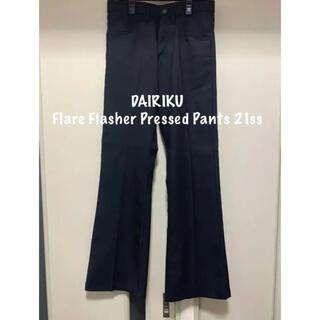 ジエダ(Jieda)のDAIRIKU Flare Flasher Pressed Pants 21ss(スラックス)