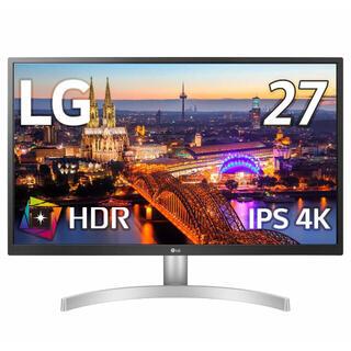 エルジーエレクトロニクス(LG Electronics)のLG 27型4Kモニター 27UL500-W (ディスプレイ)